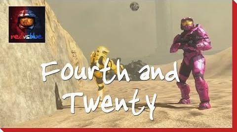 Fourth and Twenty – Chapter 5 – Red vs. Blue Season 8