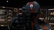 Felix aims pistol S13