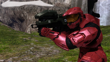 Sarge with Spartan Laser