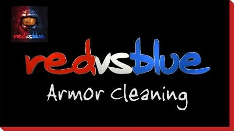 Armor Cleaning PSA - Red vs