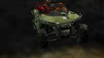 Reds slow-mo car crash