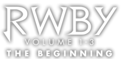 RWBY Vol. 1-3 the beginning transparent logo