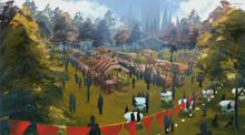 Vytal festival fairground