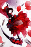 Ruby (RWBY Official Japanese Fanbook, Illustration,Shihou)
