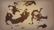 RWBY Remnant World Map Source Material 01