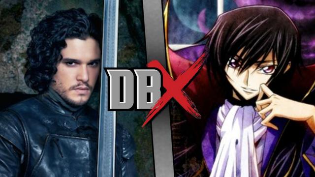 File:DBX - Jon Snow VS Lelouch.png