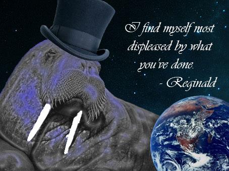 Reginald Disapproves