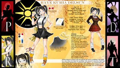 Raye Delsun Reference