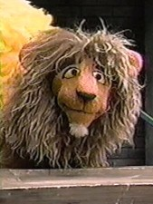 Sesame Street Lion
