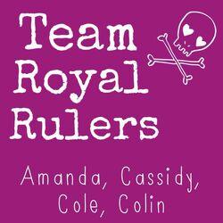Team royal rulers flag