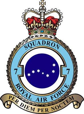 File:RAF Seven Squadron S1 Flag.jpg