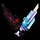 Icon twinblade glitch