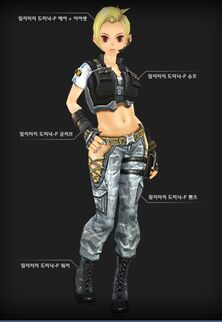 Military Dominic female set