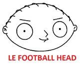 Le football head