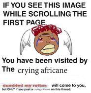 CryingafricaneScrolling