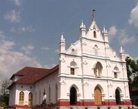 Bharananganam-church