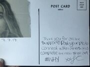 Why postcard