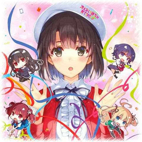 File:Saekano- How to Raise a Boring Girlfriend Character Song Collection Cover.jpg