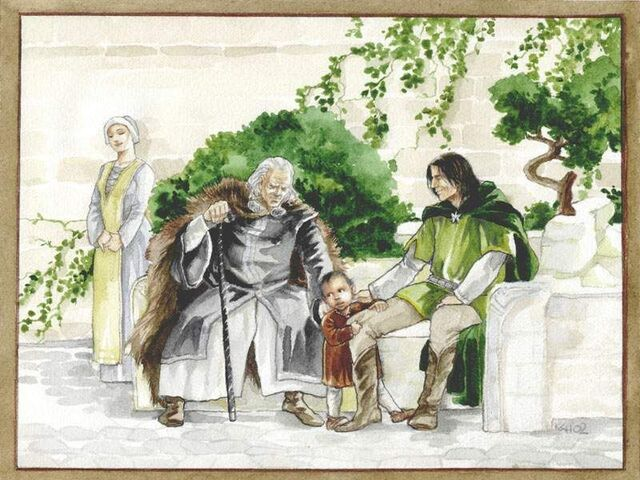 File:Catherine Chmiel - Ecthelion,Thorongil and Boromir study.jpg