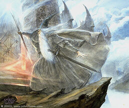 John Howe - Pass the Doors of Dol Guldur