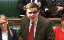 Ethan in parliament