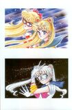 Sailor Moon, Sailor V, and Prototype Moon Artbook 1