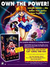 Sailor Moon VHS DIC Doom Tree Ad