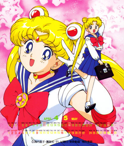 File:1994 Calender Usagi and Sailor Moon.jpg