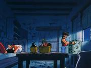 Seiya's joy of obtaining the Pegasus Cloth