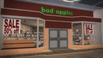 Rounds Square Shopping Center - bad apples
