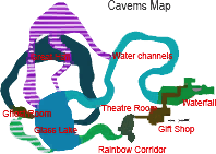 Caverns map