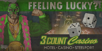 3 Count Casino - Feeling Lucky billboard
