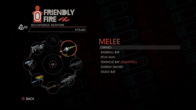 Weapon - Melee - Menu