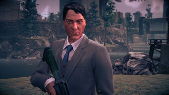 William Sharp in Saints Row IV
