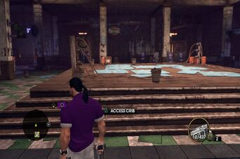 Angel's Gym - boxing ring