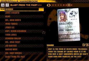 Shaundi Red Faction Guerrilla radio tag