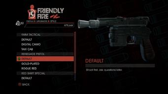 Weapon - Pistols - Quickshot Pistol - Renegade Pistol - Default