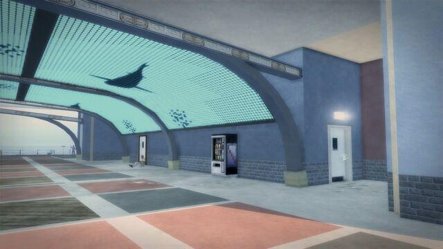 File:Developer offices - entrance under walkway.jpg