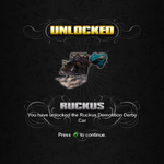 Saints Row unlockable - Vehicles - Ruckus