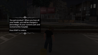 Smoked introduction in Saints Row