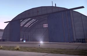 Airport Hangar crib