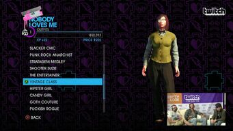 Nobody Loves Me - Vintage Class Outfit in Saints Row IV