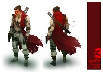Nyte Blade Concept Art