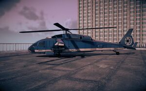 Eagle M16 variant in Saints Row IV