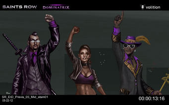 Escape the Dominatrix - Donnie, Shaundi, and Zimos concept art
