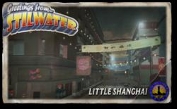 Postcard hood little shanghai