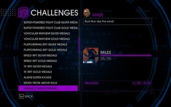 Challenge 30 Distance Super Sprinted