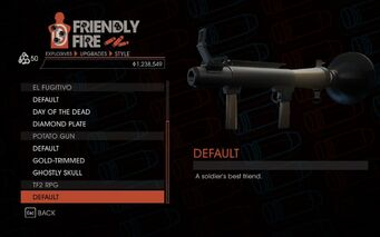 Weapon - Explosives - RPG - TF2 RPG - Default