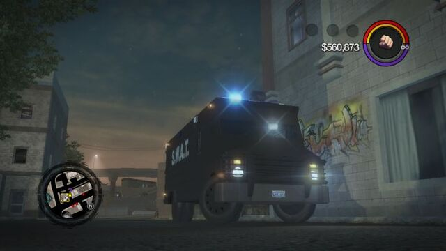 File:Peacekeeper - front right with flashing lights in Saints Row 2.jpg
