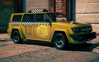 Kayak Taxi in Saints Row IV